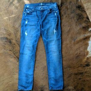 For all mankind Josefina skinny boyfriend jeans